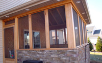 Addition, 3 Season, All Cedar Trim